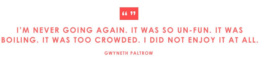 ESC: Met Gala Quotes, Gwyneth Paltrow
