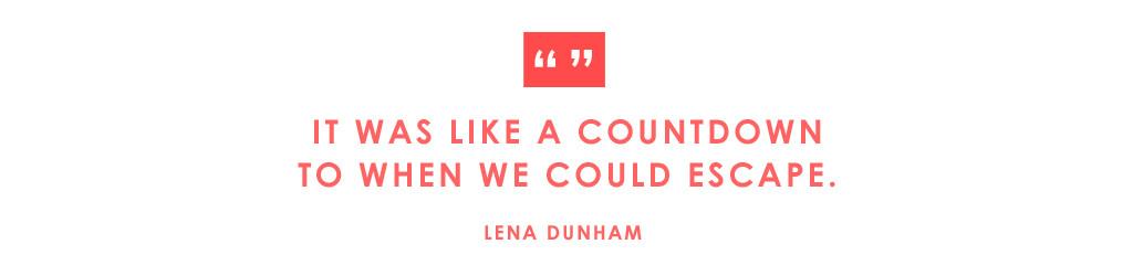 ESC: Met Gala Quotes, Lena Dunham