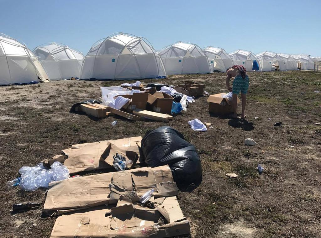 Image result for fyre festival disaster
