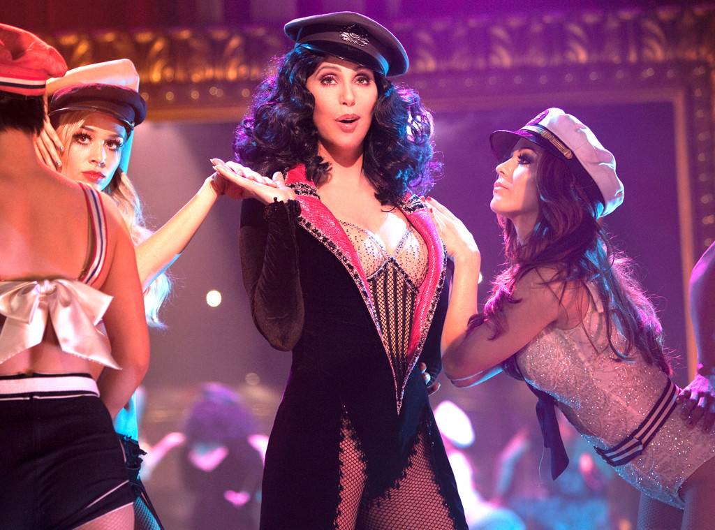 Julianne Hough, Tyne Stecklein, Cher, Burlesque