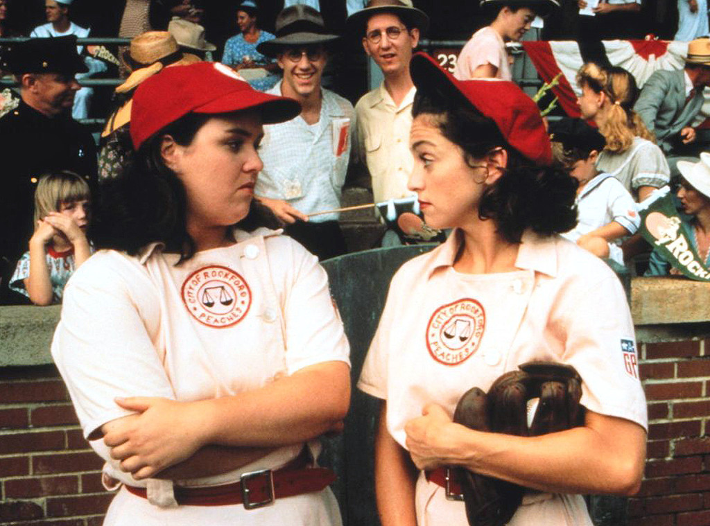 Madonna, Rosie ODonnell, A League Of Their Own