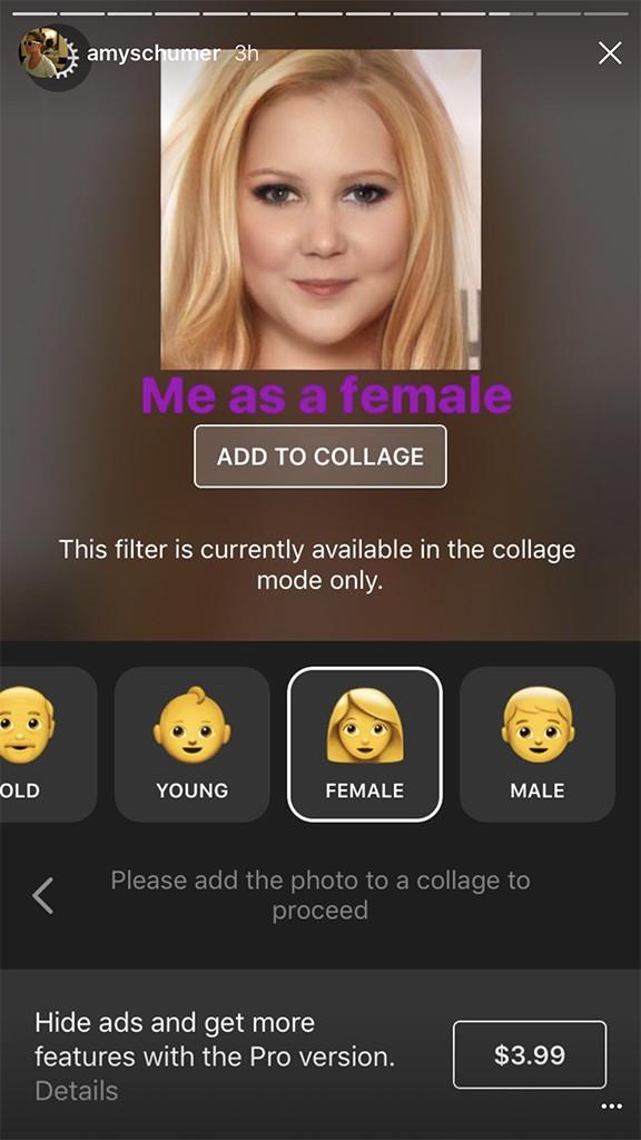 Amy Schumer, James Corden & More Celebs Can't Get Enough of FaceApp
