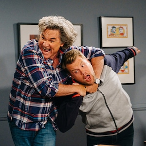 Kurt Russell, James Corden, The Late Late Show