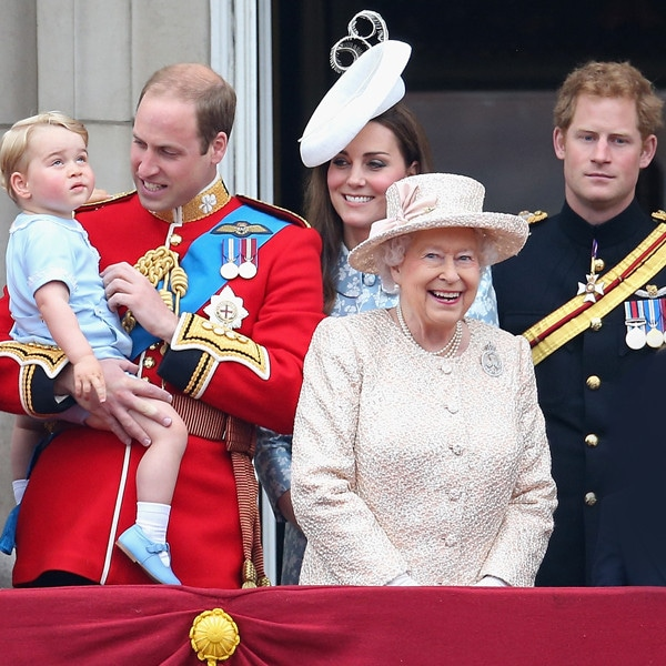 The Royal Family, Queen Elizabeth II, Prince William, Kate Middleton, Prince Harry