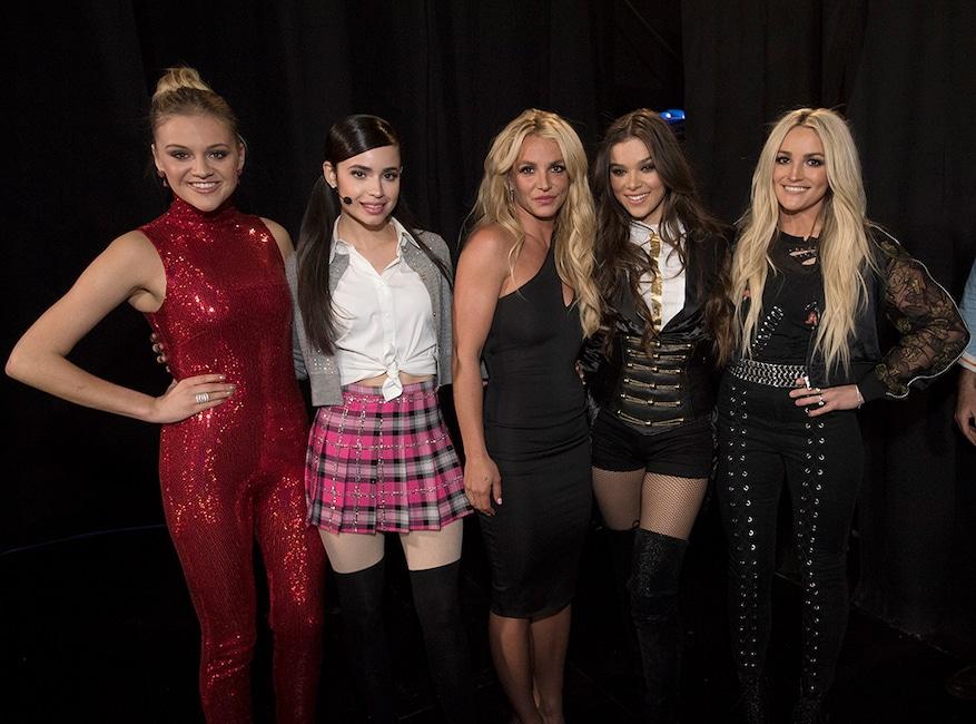 Jamie Lynn Spears, Britney Spears, Kelsea Ballerini, Sofia Carson, Hailee Steinfeld