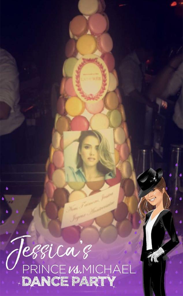 Jessica Alba, Birthday Party, Snapchat