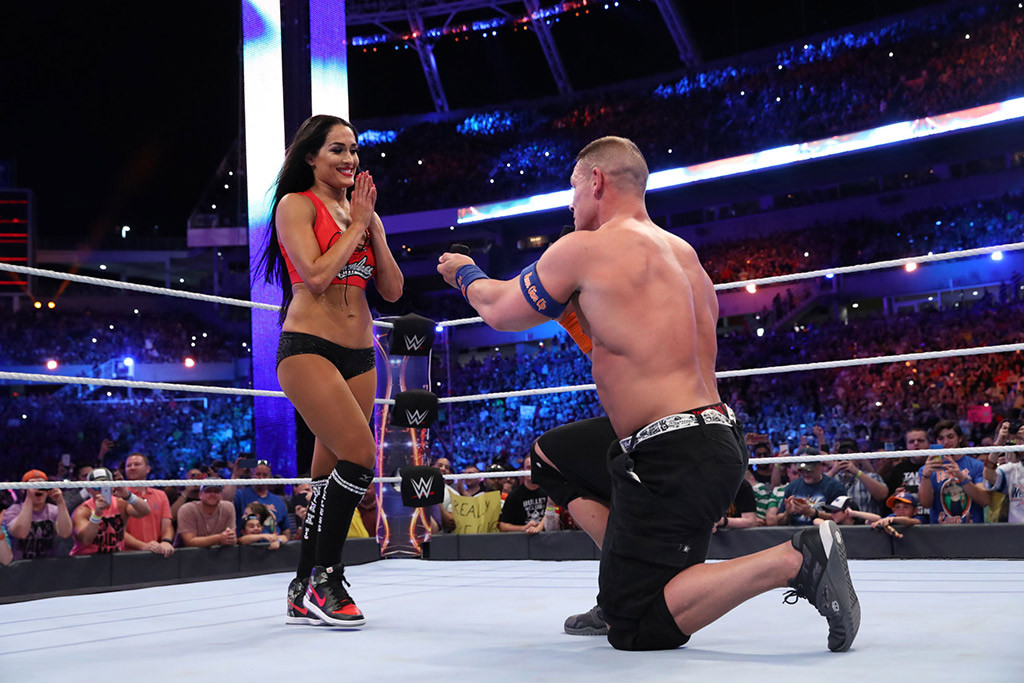 John Cena, Nikki Bella, Proposal