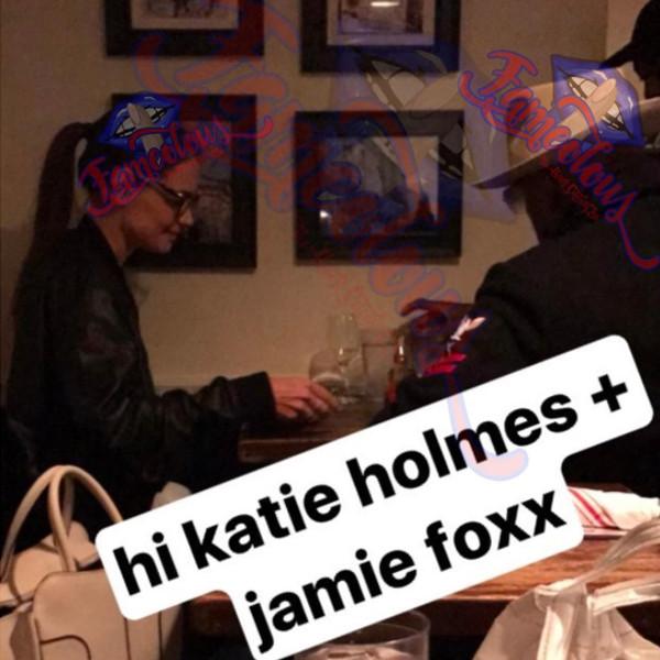 Katie Holmes, Jaime Foxx, Instagram