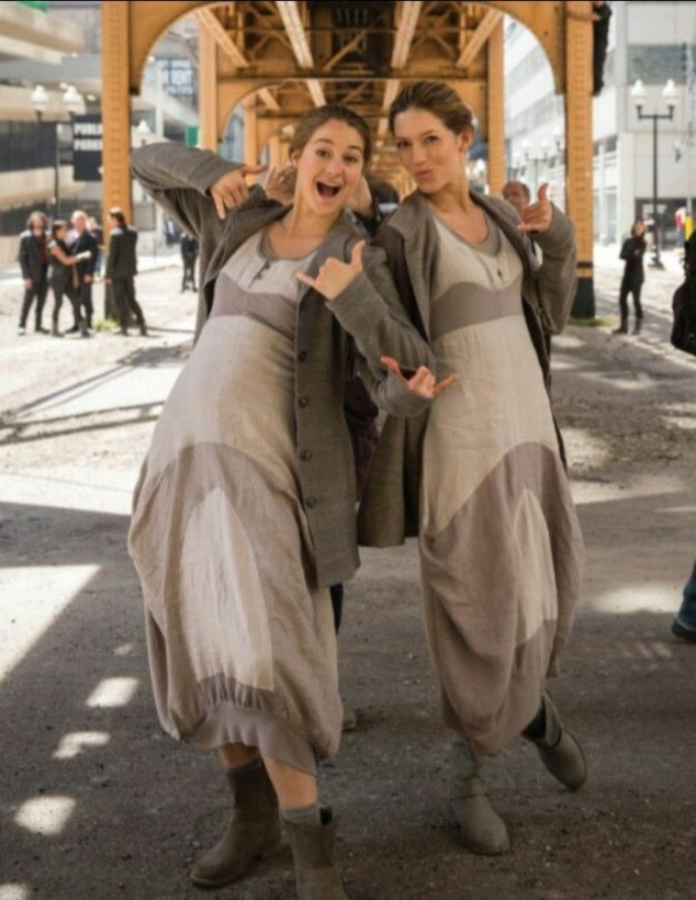 Shailene Woodley, Stunt Double
