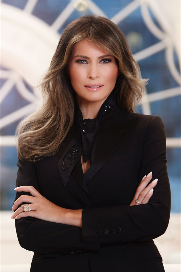 Melania Trump, White House Official Portrait