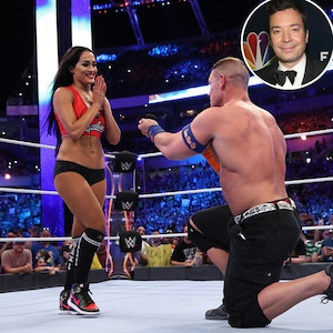 John Cena, Nikki Bella, Proposal, Jimmy Fallon