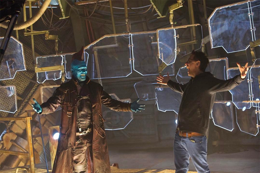Michael Rooker, James Gunn, Guardians of the Galaxy Vol. 2