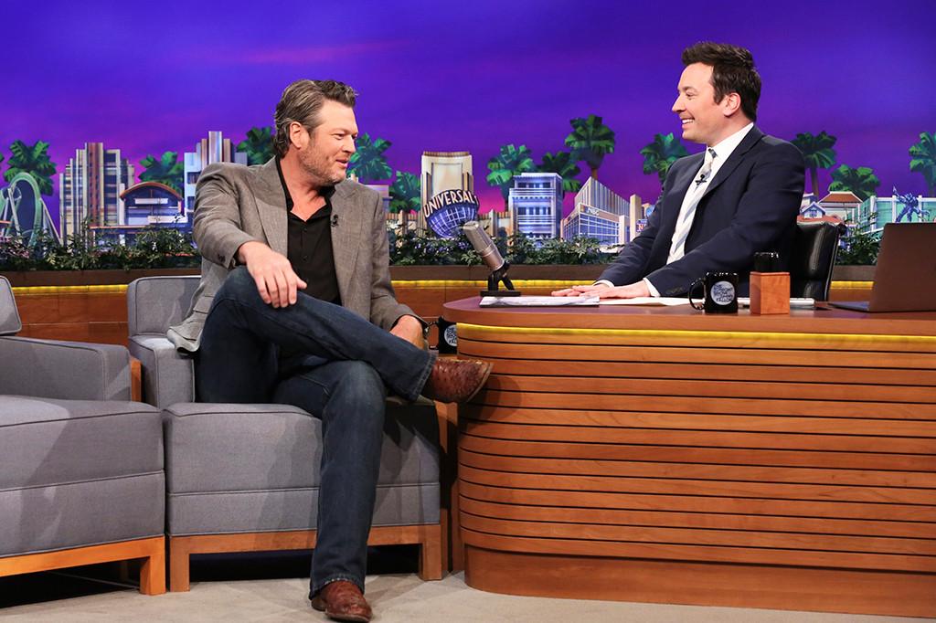 Blake Shelton, Jimmy Fallon, The Tonight Show