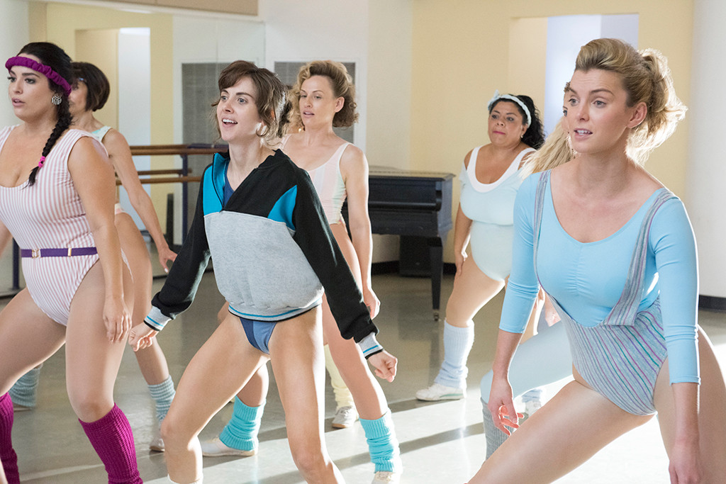 Alison Brie, Betty Gilpin, GLOW