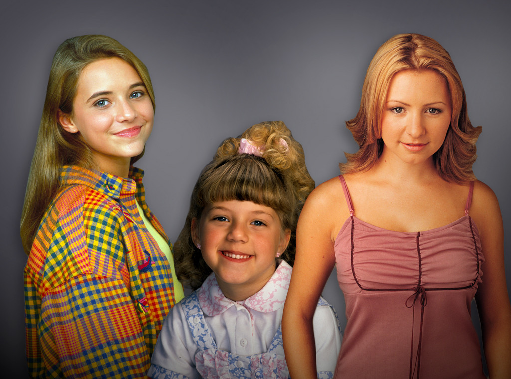 90s TV Stars, Jodie Sweetin, Christine Lakin, Beverley Mitchell