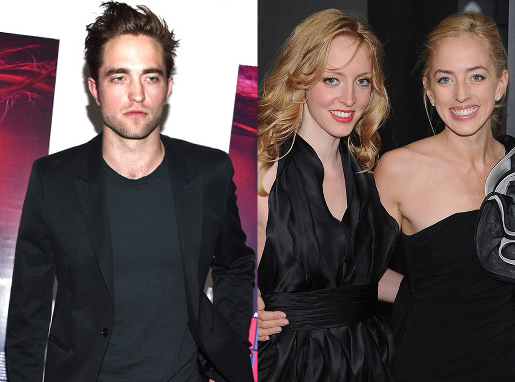 Photo of Robert Pattinson  & his  Sister  Victoria Pattinson