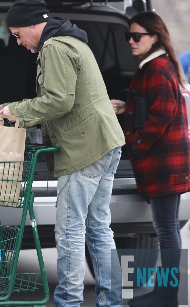 Sandra Bullock, Bryan Randall *7AM ET 4/7