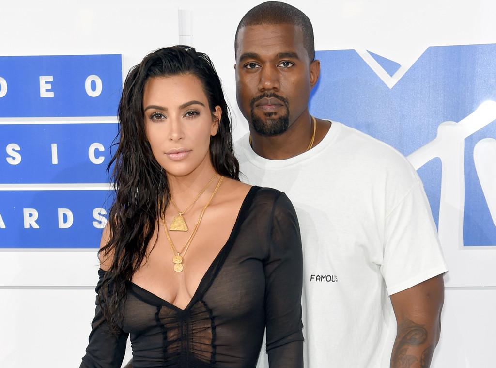 Kim Kardashian, Kanye West, 2016 MTV VMAs