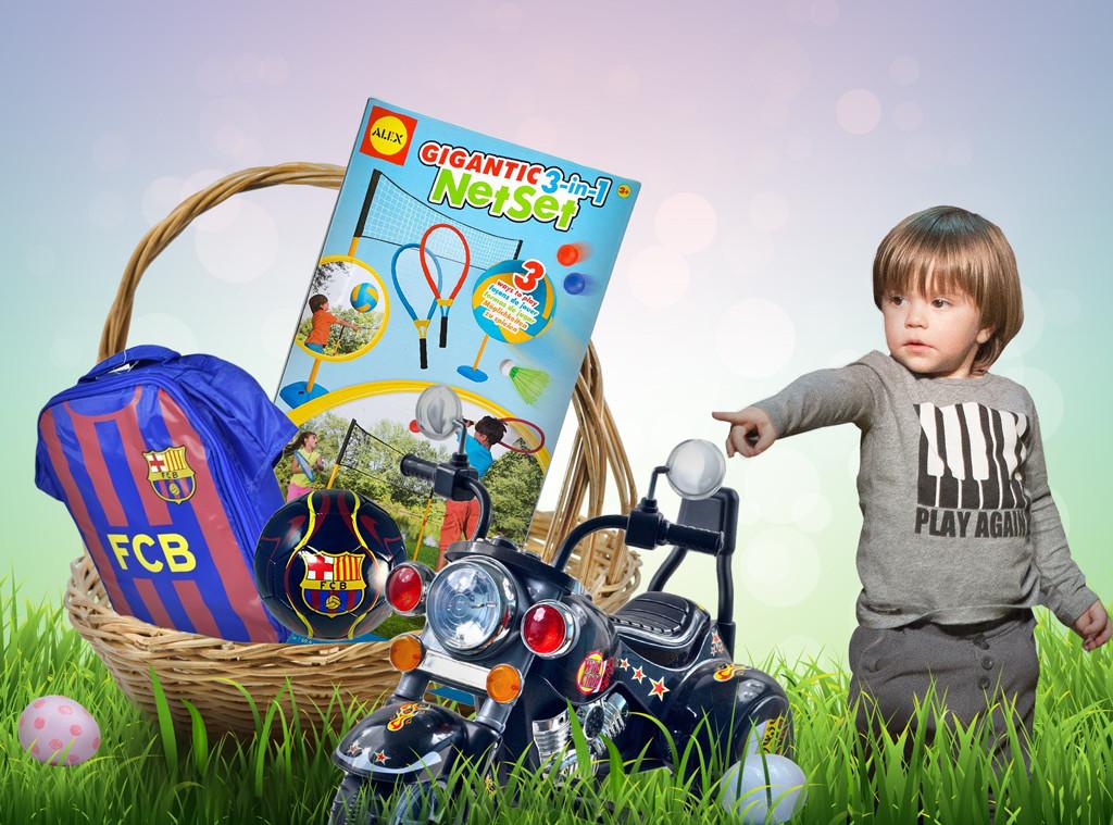 Celebrity Kids Easter Baskets, Sasha Pique