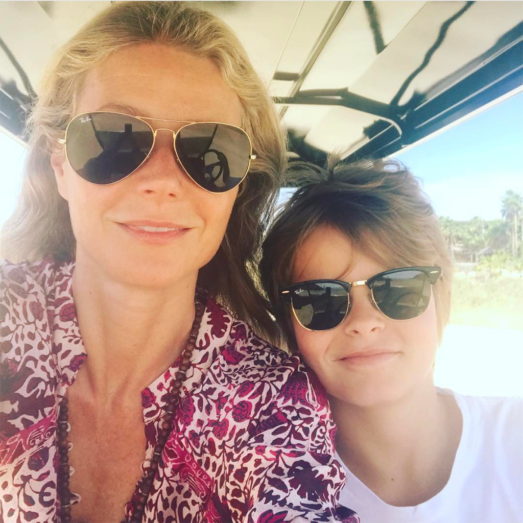 Gwyneth Paltrow, Moses, Instagram