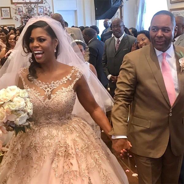 Meghan Mccain Partner: Omarosa From Celeb Wedding Dresses