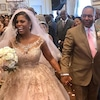 Omarosa, John Allen Newman, Wedding