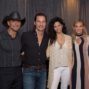 Tim McGraw, Faith Hill, Matthew McConaughey