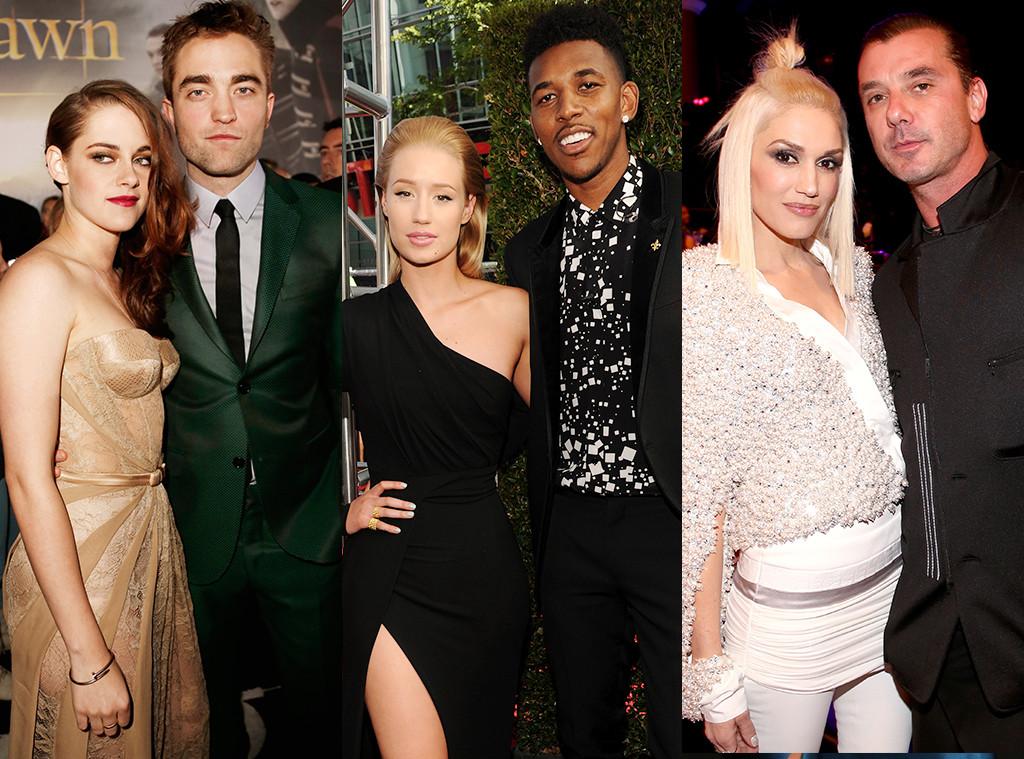 Kristen Stewart, Robert Pattinson, Gwen Stefani, Gavin Rossdale, Iggy Azalea, Nick Young