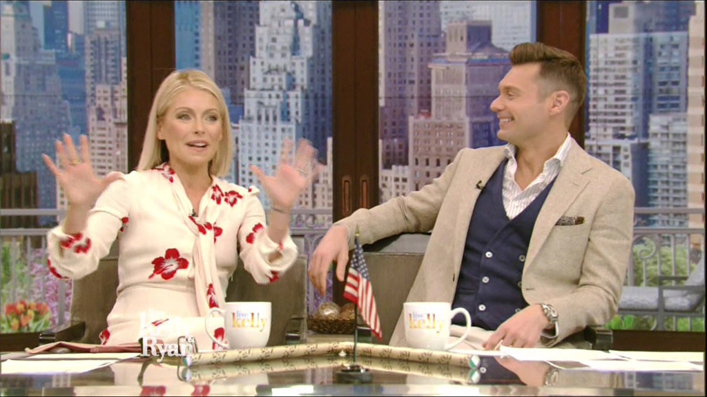 Ryan Seacrest, Kelly Ripa, Live! With Kelly and Ryan