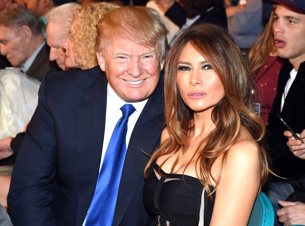 Donald Trump, Melania Trump, Fight Night