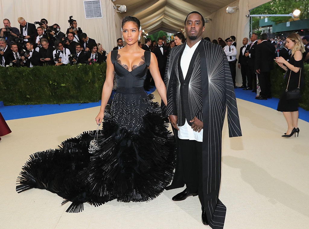 Sean Diddy Combs, Cassie, 2017 Met Gala, Couples
