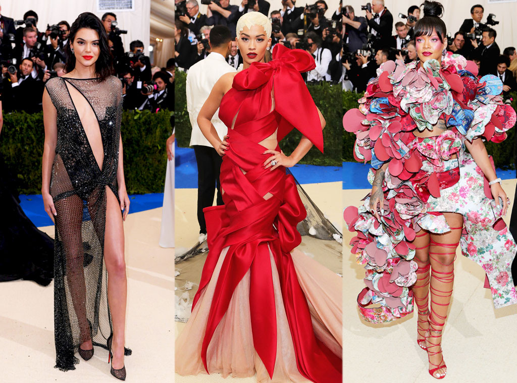 Kendall Jenner, Rita Ora, Rihanna, 2017 Met Gala, Fashion Police