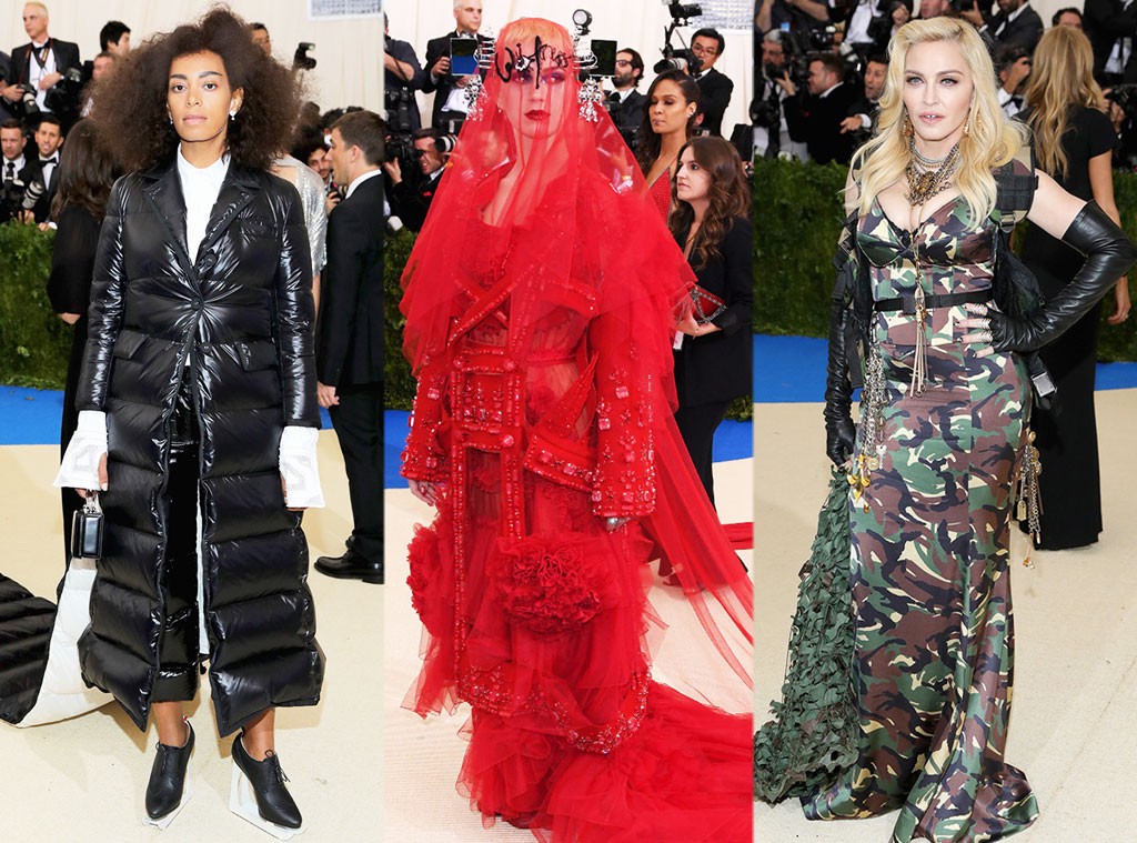 Solange Knowles, Madonna, Katy Perry, 2017 Met Gala, Fashion Police