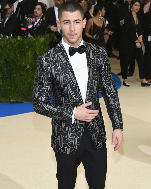 Nick Jonas, 2017 Met Gala Arrivals