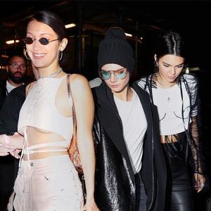 Bella Hadid, Cara Delevingne, Kendall Jenner