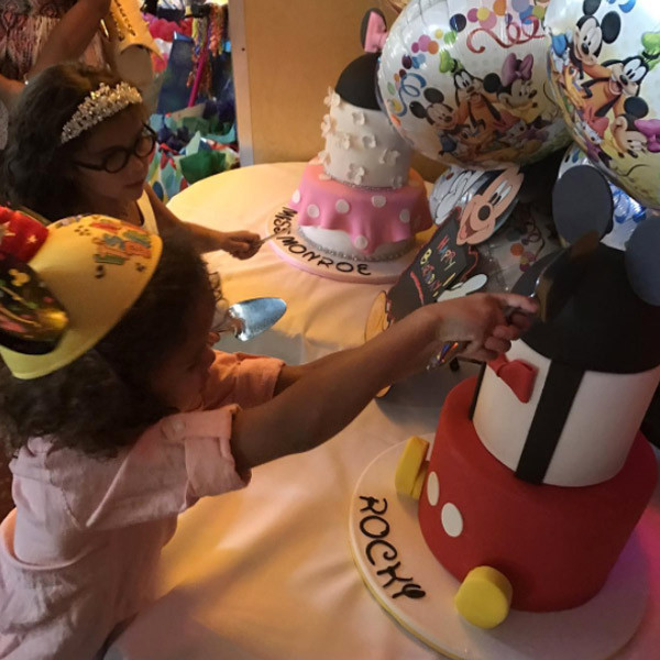 Mariah Carey And Nick Cannons Twins Celebrate 6th Birthday At Disneyland