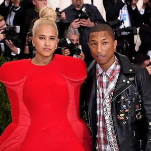Pharrell Williams, Helen Lasichanh, 2017 Met Gala Arrivals, Couples