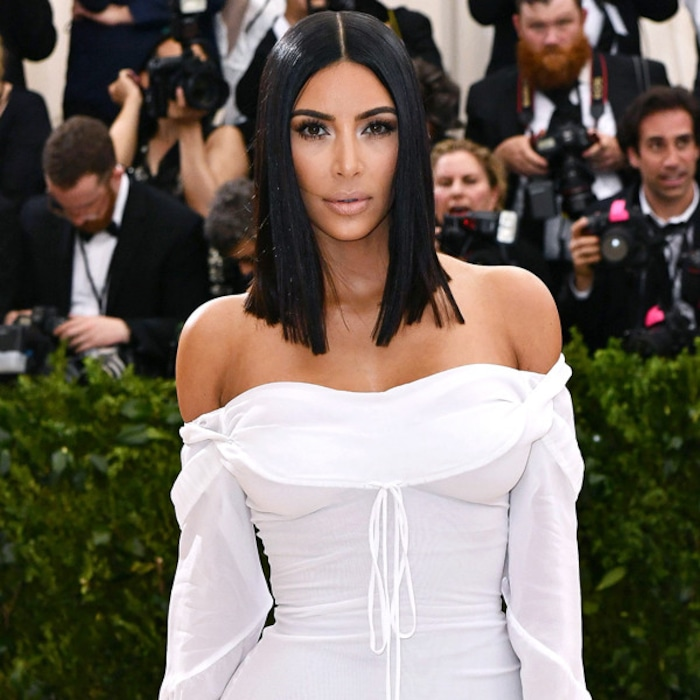 e148923fc Kim Kardashian Reminisces Over the Met Gala and the One Year She   Almost  Threw Up on the Way