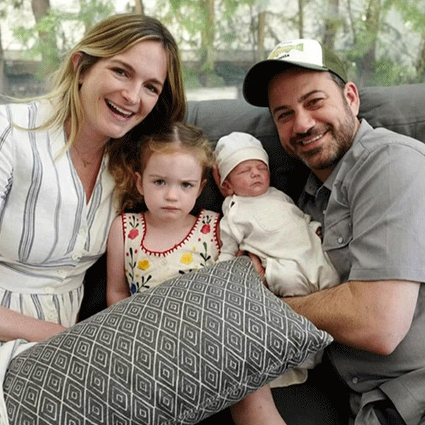Jimmy Kimmel S Baby Boy Visits Dad At Work 3 Months After