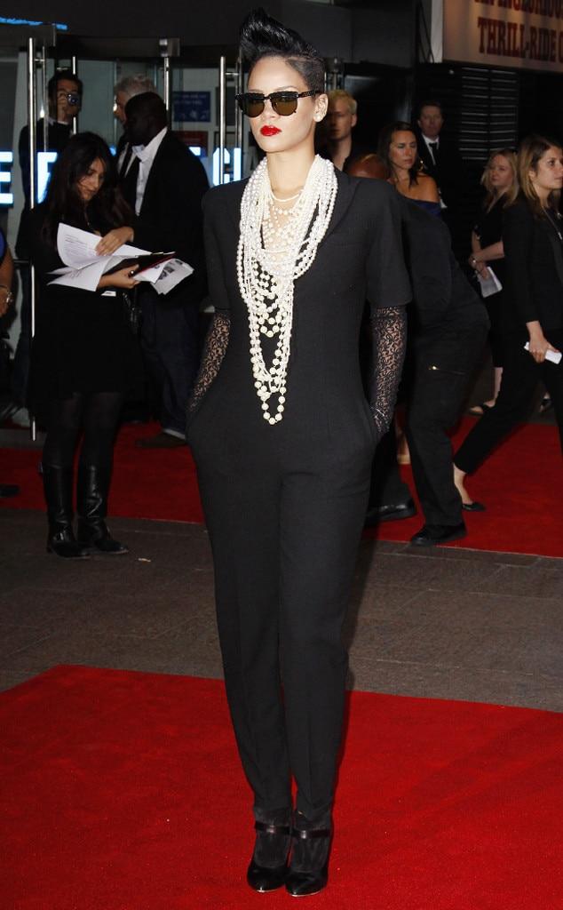 Rihanna, 2009 from Alexander McQueen's Best Red Carpet ...