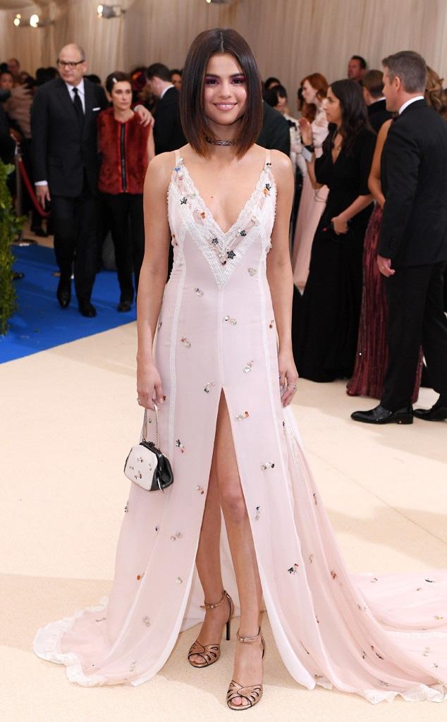ESC: Selena Gomez, 2017 Met Gala Arrivals