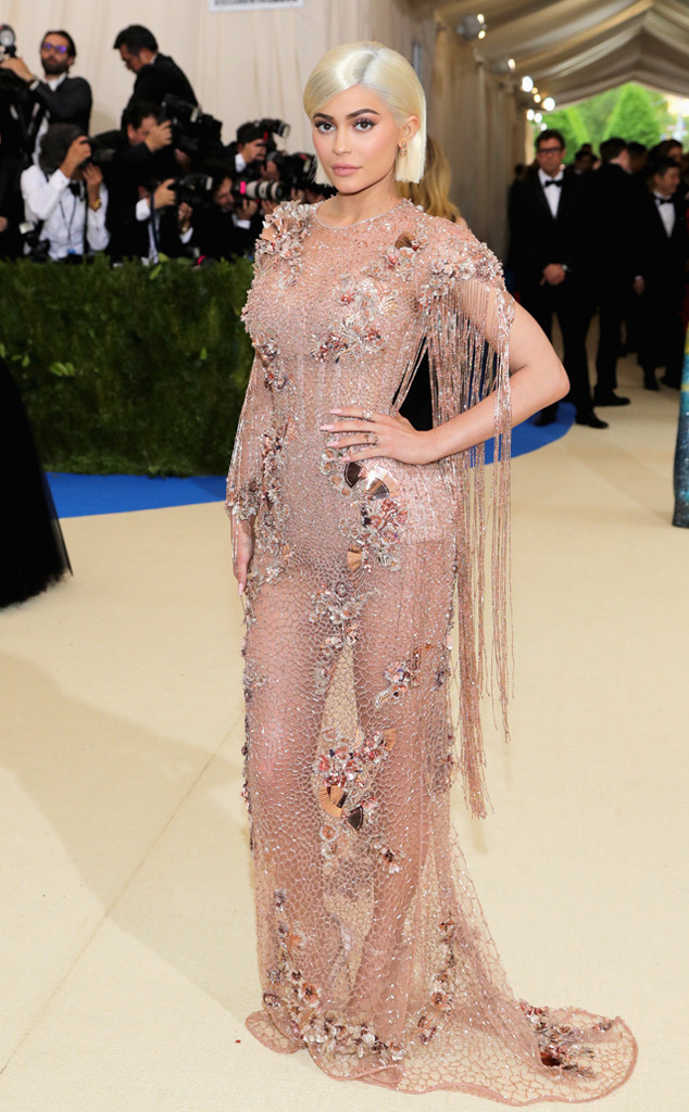 Kylie Jenner, 2017 Met Gala Arrivals