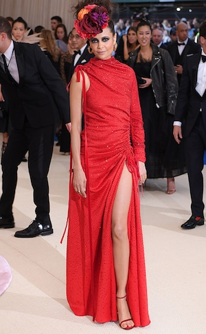 Thandie Newton, 2017 Met Gala Arrivals