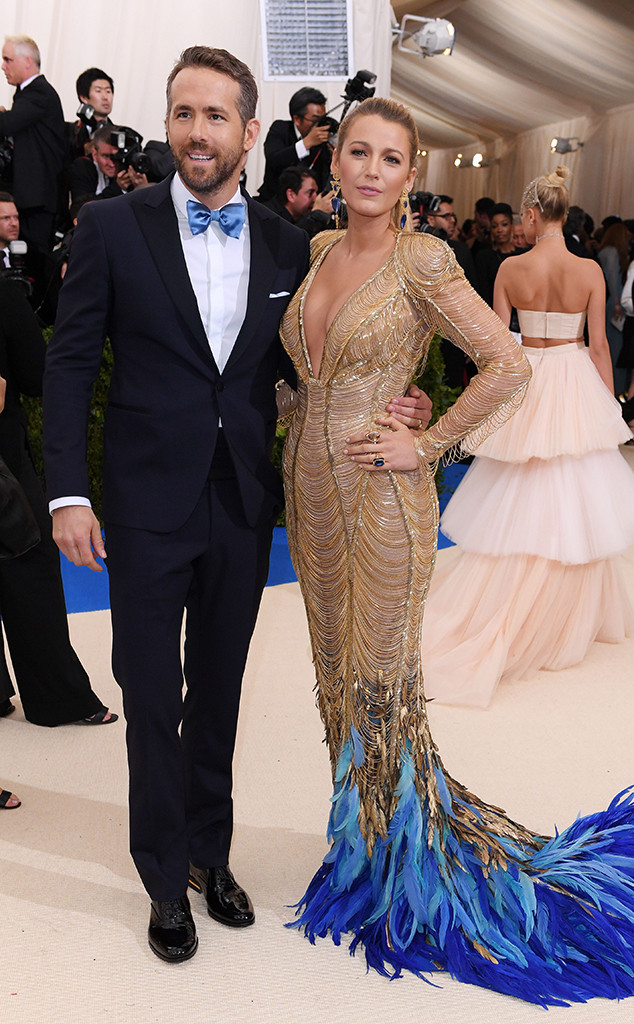 Blake Lively, Ryan Reynolds, 2017 Met Gala, Couples