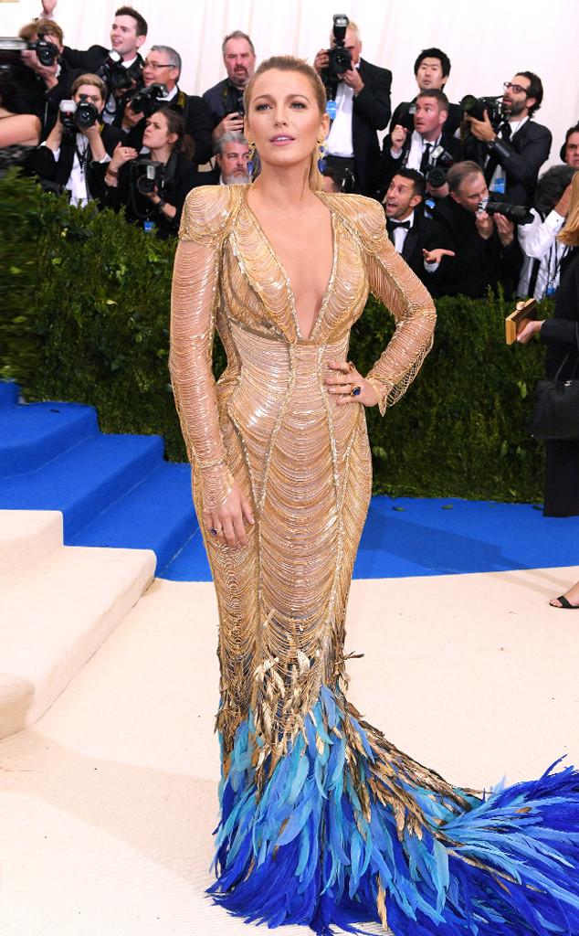 Blake Lively's 2018 Met Gala Dress Has Taken 600 Hours to ...