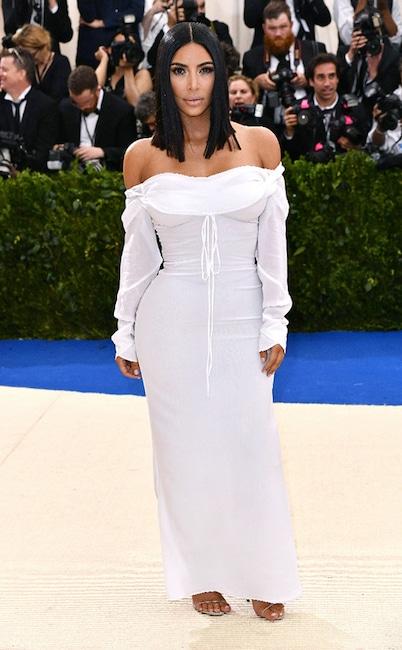 Kim Kardashian, 2017 Met Gala Arrivals