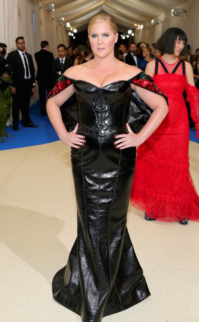 Amy Schumer, 2017 Met Gala Arrivals