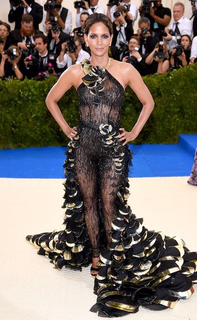 Halle Berry, 2017 Met Gala, Red Carpet Fashions, Widget