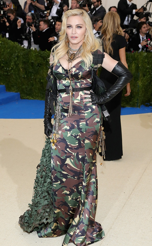 Madonna From 2017 Met Gala Red Carpet Arrivals E News
