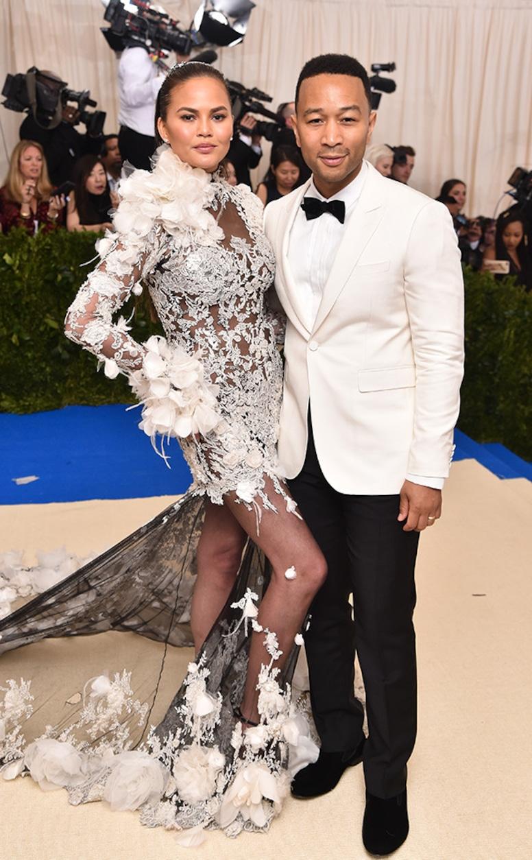 Chrissy Teigen, John Legend, 2017 Met Gala, Couples